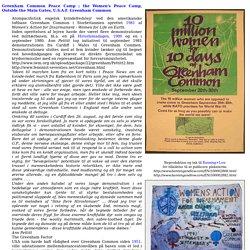 Fredsakademiet: Freds- og sikkerhedspolitisk Leksikon G 83 : Greenham Common Peace Camp