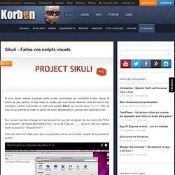 Sikuli – Faites vos scripts visuels