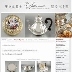 Englische Silbermarken – die Silberpunzierung im Vereinigten Königreich - Silbersuite - Altes Tafelsilber