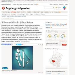 Silbermedaille für Silber-Reiner - Nachrichten Krumbach