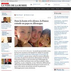 Honte & Silence la France extrade 1 PAPA