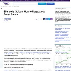 how to negotiate a better salary offer