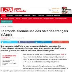 La fronde silencieuse des salariés français...