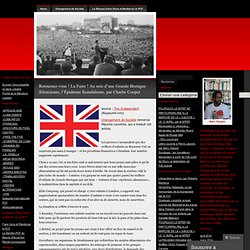 Retournez-vous ! La Faim ! Au sein d'une Grande-Bretagne Silencieuse, l'Épidémie Scandaleuse, par Charlie Cooper