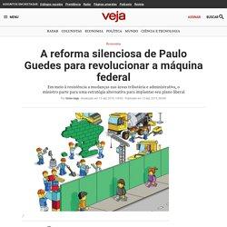 A reforma silenciosa de Paulo Guedes para revolucionar a máquina federal