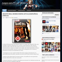 Silent Hill Homecoming [Full] [Español] [MEGA] ~ Juegos para PC por MEGA
