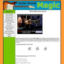 simple christmas tabs for guitar pearltrees. Black Bedroom Furniture Sets. Home Design Ideas