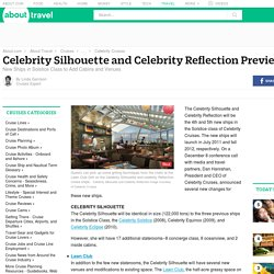 Celebrity Silhouette and Celebrity Reflection Preview