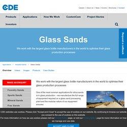 Glass sand