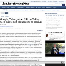 Economists the new hot job category for Silicon Valley tech companies