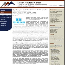 Silicon Flatirons - Events