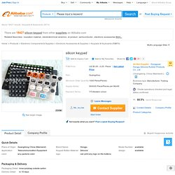 silicon keypad products, buy silicon keypad products from alibaba