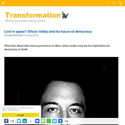 Lost in space? Silicon Valley and the future of democracy