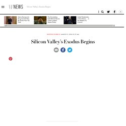 Silicon Valley's Exodus Begins