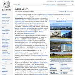 Silicon Valley - Wikipedia