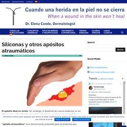 Siliconas y otros apósitos atraumáticos - Elena Conde Montero
