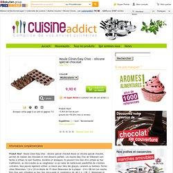 (3) - Moule Cônes Easy Choc - Silicone Spécial Chocolat - Achat et vente