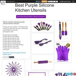 Best Purple Silicone Kitchen Utensils & Accessories