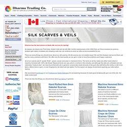 Silk Scarves & Veils