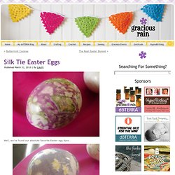 Silk Tie Easter Eggs |