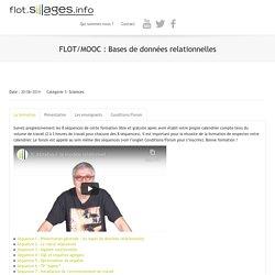 FLOT : Bases de données relationnelles