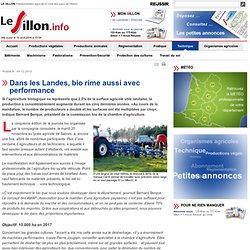 LE SILLON 04/12/12 Dans les Landes, bio rime aussi avec performance
