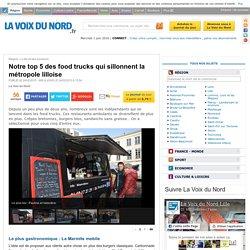 Notre top 5 des food trucks qui sillonnent la métropole lilloise