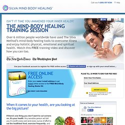 Silva Method Mind Control for mind and body healing