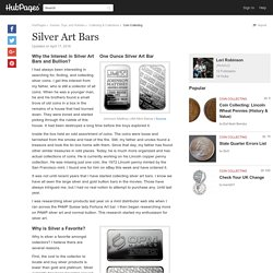 Silver Art Bars