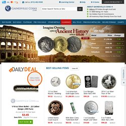 Buy Gold and Silver Coins & Bars | Gainesville Coins Inc.