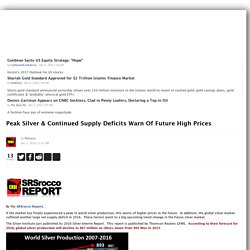 Peak Silver & Continued Supply Deficits Warn Of Future High Prices