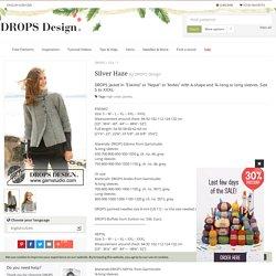 Silver Haze / DROPS 103-1 - Free knitting patterns by DROPS Design