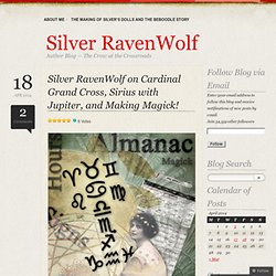 Author Silver RavenWolf's Blog