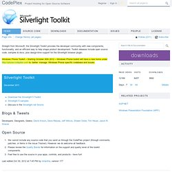 Silverlight Toolkit