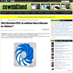 [Maj] SilverStone FQ121, un ventilateur blanc et bleu pour les radiateurs ? - Ventilateurs