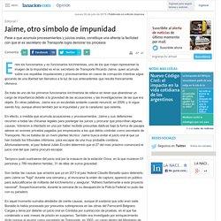 Jaime, otro símbolo de impunidad - 30.07.2015