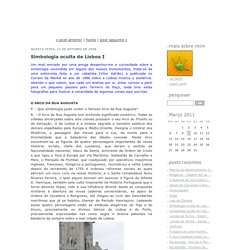 Simbologia oculta de Lisboa I - blackcrowes