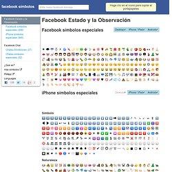 Facebook Símbolos: emoticonos, emoticonos y lista de códigos