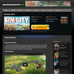 SimCity 2013 Download