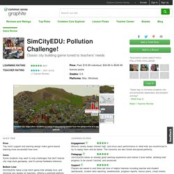 SimCityEDU: Pollution Challenge! Educator Review