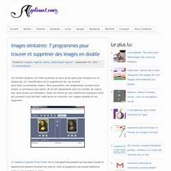 Images similaires: 7 programmes pour trouver et supprimer des images en double