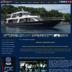 information similan islands liveaboard