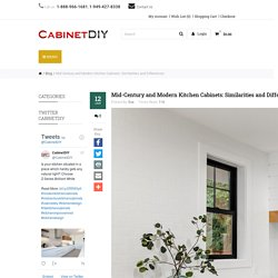 Mid-Century and Modern Kitchen Cabinets: Similarities and Differences