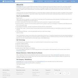 Similar Sites - О проекте