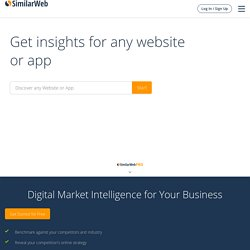 SimilarWeb - Discover without searching