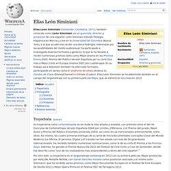 Elías León Siminiani