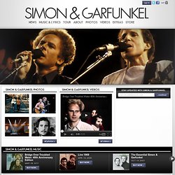 Simon & Garfunkel | The Official Simon & Garfunkel Site