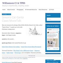 Simon's Cat–Santa Claws MovieTalk – Williamson CI & TPRS