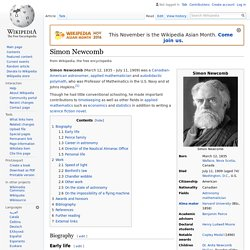 Simon Newcomb - Wikipedia