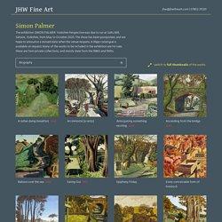 Simon Palmer - JHW Fine Art